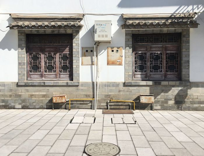 Built Structure Building Exterior Architecture Window No People Entrance Outdoors Day