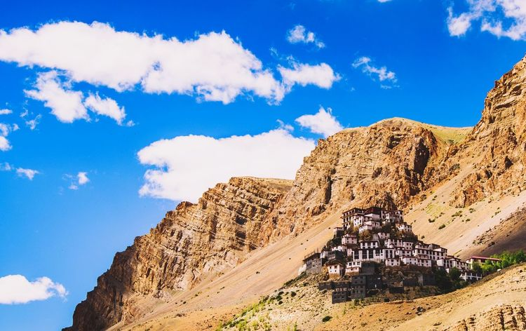 key monastery Key Monastery Spiti Valley India Spiti Key Gampa EyeEm Selects Rock - Object Nature Beauty In Nature Landscape Travel Destinations Scenics Mountain Sky Outdoors Cloud - Sky Desert Tranquility Physical Geography No People Blue Astronomy Rock Hoodoo Day Mammal