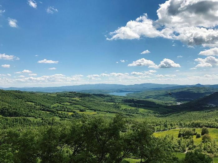 Green 🍃 Nature Landscape Cloud - Sky Tranquility Outdoors Tuscany Umbria Citta Di Castello Sansepolcro