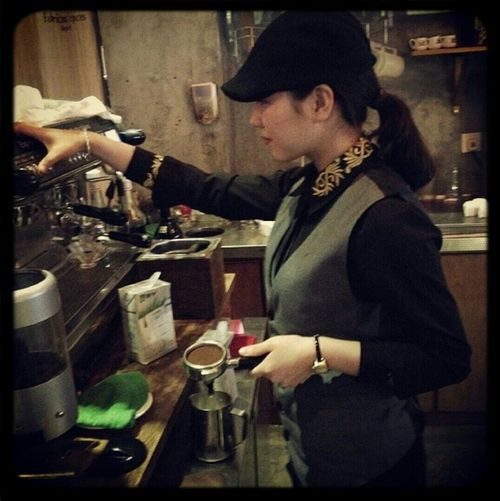 I'm Barista . Coffee Time Enjoying Life Barista Instagram