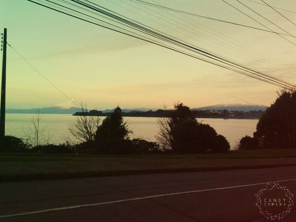 Mi hermoso paisaje PuertoVaras Decimaregion Chile♥ VolcanOsorno y VolcanCalbuco Taking Photos Hi! Biutifull Photo