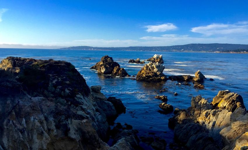 California California Water Sea Sky Rock Rock - Object Solid Scenics - Nature