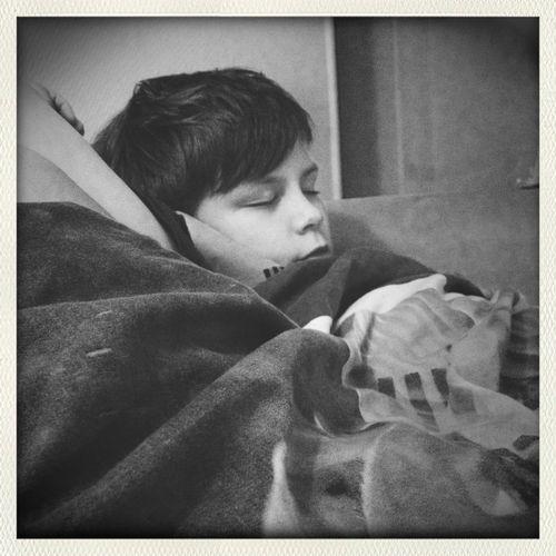 bobber sover ❤️
