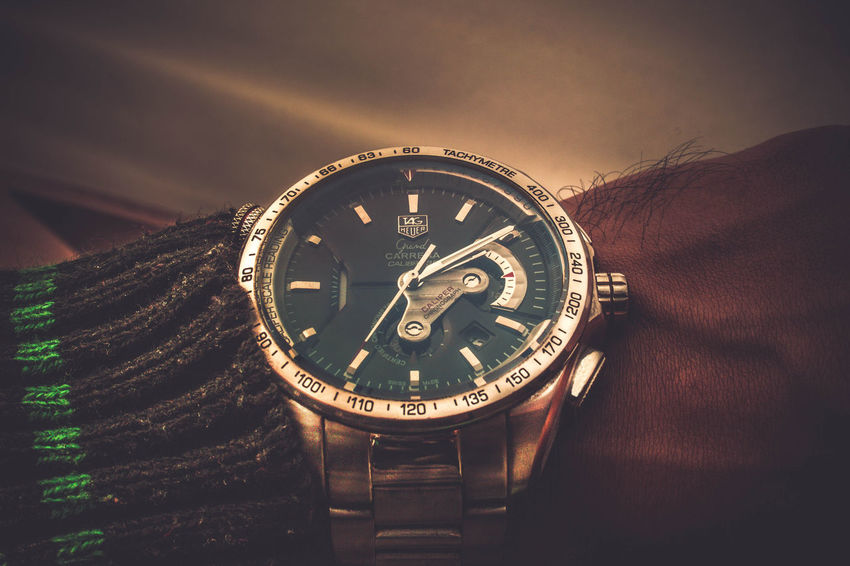 Tag Time Clock Clock Face Close-up No People Watch Fashioneditorial Textured  Fashion Minute Hand Instrument Of Time Tagheuer Product Photography Fashionable Old-fashioned Only Men Adults Only Males