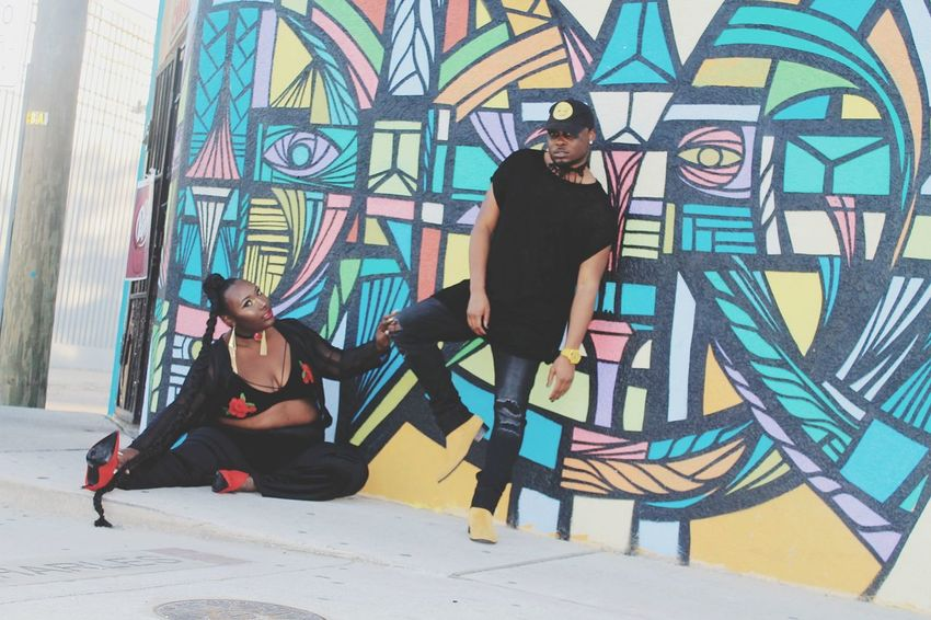 Street Style Street Style From Around The World Graffiti Street Art People Attitude Multi Colored Arts Culture And Entertainment Architecture Fashion Plussize Plus Size Model Houston Texas United States EyeEm Ready