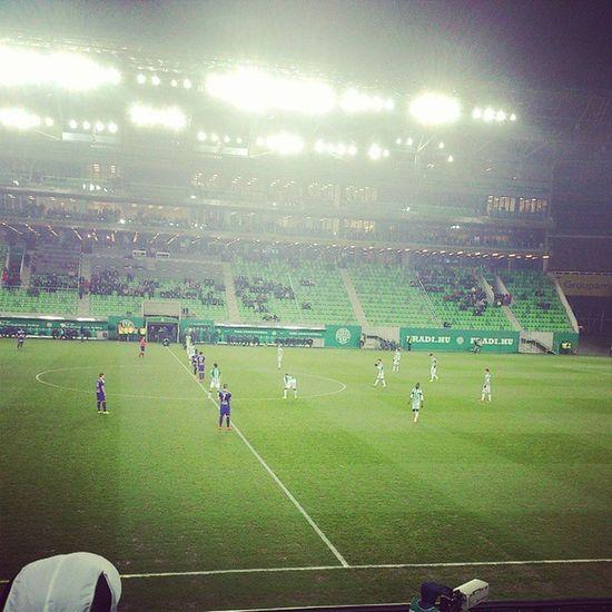 Ferencváros FTC  Fradi Hajrafradi Zöldfehér Groupamaarena Football Matchday Ftcvskecskemet