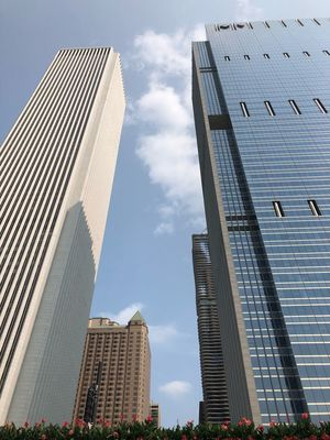Architecture Built Structure Building Exterior Tall - High City Office Building Exterior Sky Skyscraper Building Low Angle View Travel Destinations Tourism Day No People