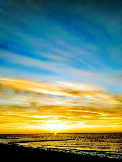 Horizon Over Water Sea Sky Romantic Sky Dramatic Sky Nature Beauty In Nature Sunset Day Water Beach No People Outdoors Idyllic Netherlands Westkapelle Zeeland  Reflection Cloud Sky Sunset_collection