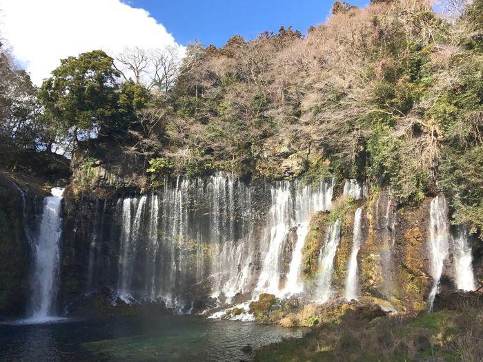 Waterfall Water Shiraito Falls
