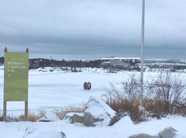 On the Frame Lake Trail, Yellowknife Northwest Territories Yellowknife Yzf Northwest Territories