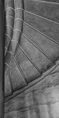 Black & White Middle Age No People Pattern, Texture, Shape And Form Stairs Stone