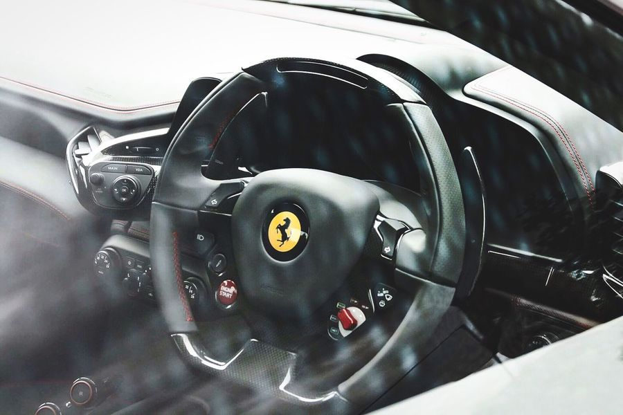 458 Speciale steering wheel Ferrari 458 458speciale Ferrari 458 Speciale Ferrari 458 Steering Wheel Polariser First Eyeem Photo EyeEm Best Shots Car Cars Supercar Automotive Photography