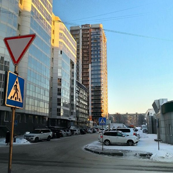 2014 -01, Новосибирск . вечер / Novosibirsk . Evining.