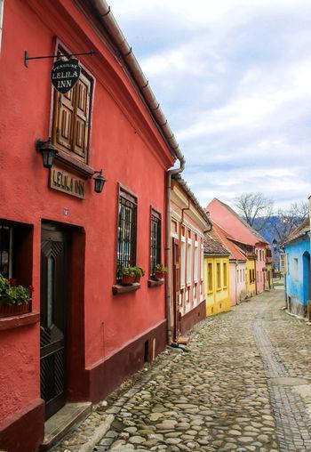 Romania Romania, Europe Transylvania Architecture Building Building Exterior City Day House No People Sighisoara Sighisoara, Romania Street
