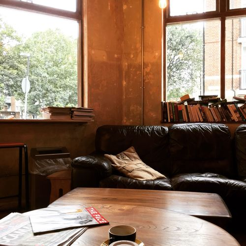 My Favorite Place Sofa Relaxation Resting Domestic Life Cozy Coffee Cafe Shoreditch