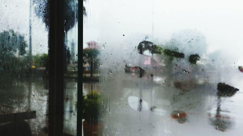 Rainy Days Finger Print Eva Filter Streetphotography