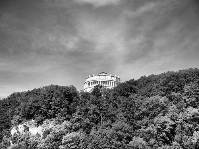 Architecture Building Exterior Built Structure Cloud - Sky Day Low Angle View No People Outdoors Sky Tree Walhalla Walhalla Memorial