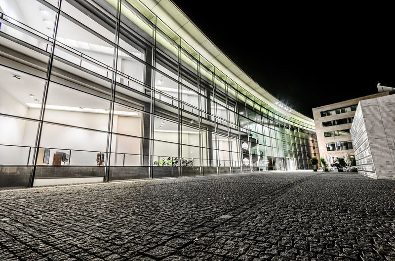 Absence Architecture Building Building Exterior Built Structure City Cobblestone Direction Empty Footpath Nature Night No People Outdoors Paving Stone Road Sky Street The Way Forward Transportation
