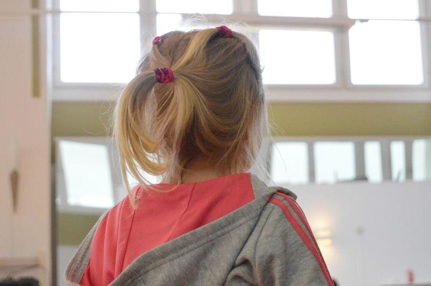 Warming up Dance Studio Activity Training Dancer Child Childhood Girl Blond Hair Headshot Young Women Window Rear View Hair Bun Long Hair Human Back Close-up Ponytail Building Medium-length Hair Hairstyle Hair Length Pretty Wearing