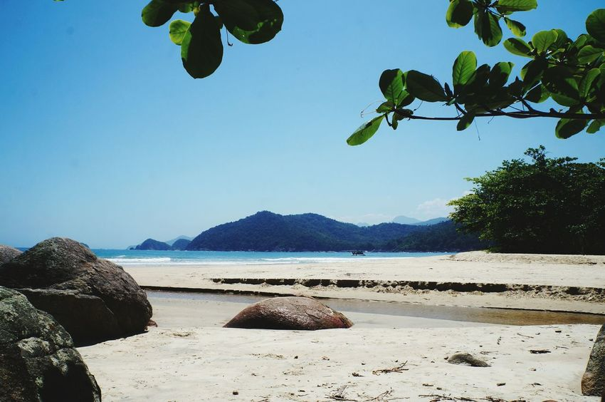 Water Beach Summer Nature Sea Mountain Beauty In Nature Sky Tourism Paraty - RJ Travel Vacations Brasil ♥ Tropical Climate