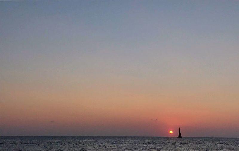 Tramonto sul mare di formentera First Eyeem Photo My Best Travel Photo