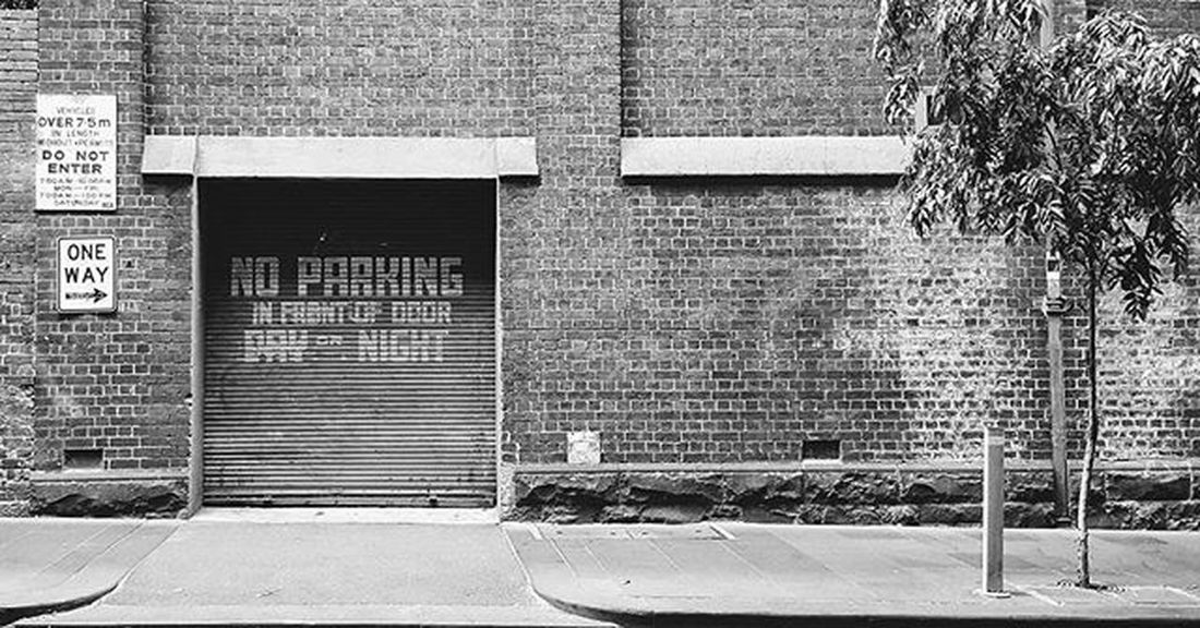 No Parking Photography Photo VSCO Vscocam Vscocamphotos Vscoaustralia Vscomelbourne Snapseed Justgoshoot Mobilephotography Mobile Mobilephotos Mpnselects Galaxys6 Street Streetphotography Streetphoto Streetsofmelbourne Gspc Melbourne Melbournecbd Blackandwhite Bw Blackandwhitephotography Bw_awards bnw_awards blackandwhiteisworththefight melbourneiloveyou door noparking