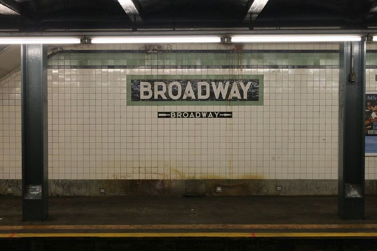 Broader than Broadway, Underground, Williamsburg, Brooklyn Notes From The Underground Subway Commuting Running Late