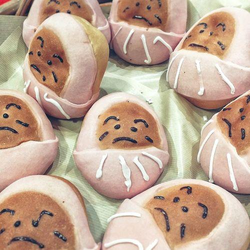 Snack Time! Daruma Darumastyle Daruma Bread Japanese  Bread Tokyo Showcase July