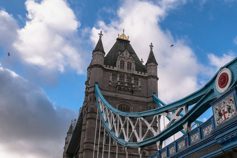 Tower Bridge, London Architecture Sky Cloud - Sky Building Exterior Low Angle View Travel Destinations City Nature No People Travel Bridge Tourism Connection Bridge - Man Made Structure Building Outdoors London Europe Uk England Travel Lifestyles Urban Tower Tower Bridge