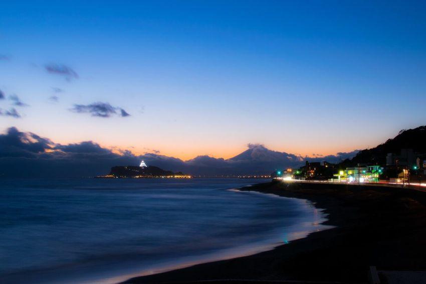 Kanagawa Kamakura Shonan Japan Japan Photography Nature Nature Photography Beautiful Beautiful Nature Photo Nikonphotography Nikon Photography Sea Sunset Like Ocean Sky Inamuragasaki Majichour Enoshima