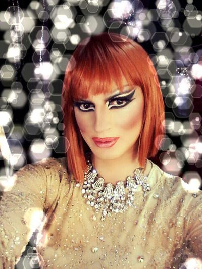 Dragqueen  Selfie beauty Popular www.crystalshow.com.ua