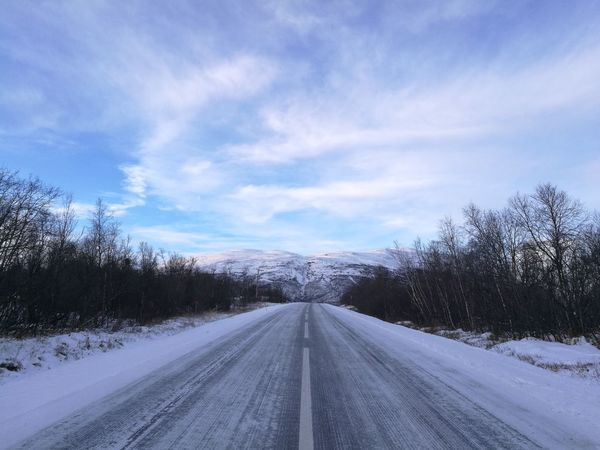 The Way Forward Snow Road Cloud - Sky No People Day Outdoors Sky Abisko Nationalpark Nature Landscape Snowing Cold Temperature Cold Days Tranquility Scenics No Filter Sweden I Love Sweden Mountains And Sky Snow Covered Travel Destinations No Filter, No Edit, Just Photography Beauty In Nature Kiruna