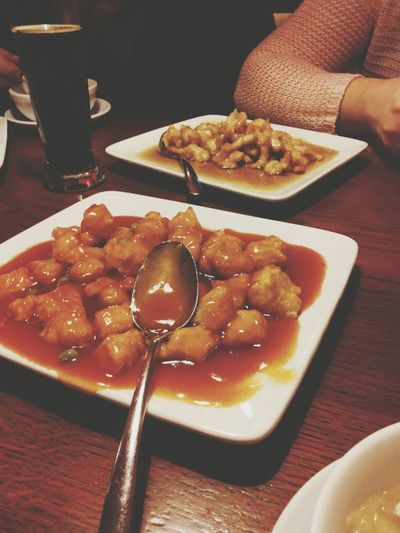 niom niom xD Foodporn Chinese Food Timewithfamily Taking Photos