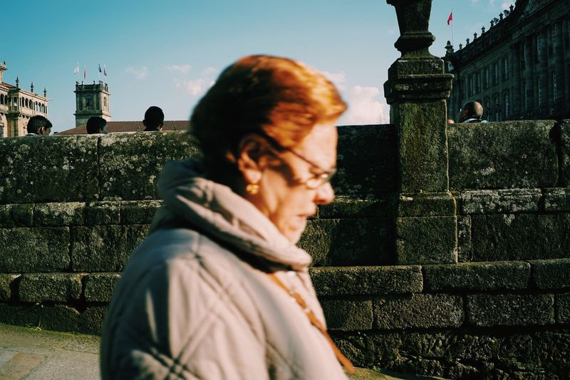 Up Close Street Photography The Way Santiago De Compostela Cityscapes Travel CaminodeSantiago Europe Mayor Oldman In Camino Backpacking Travel Photography Walking Camino Traveler Magic Hour España Backpacker Streetphotography Backpackers SPAIN