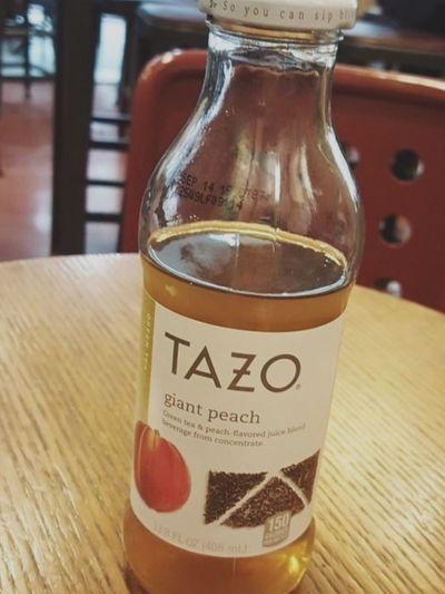 My new Favorite Drinks Drinking Delicious Tazo Green Tea Taking Photos Photo Happy Kiddo :)  at Starbucks
