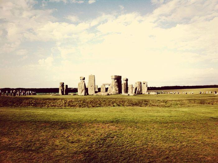 Stonehenge! Wirklich sehenswert.