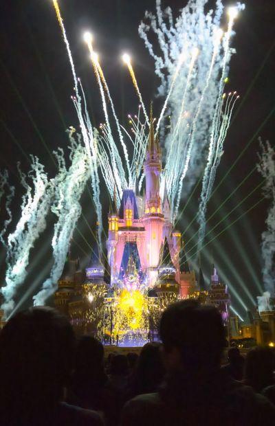 Disneyland Tokyo Exploding Night
