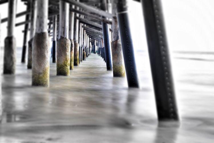 Don't let your life slip by with regret... Eye4photography  Beach Photography Seascape California Coast Beach Life Ocean Dream Life Is A Beach Ocean Beach Pier Vanishing Point