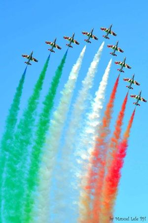 The Color Of Sport Flying Mode Of Transport Air Vehicle Airplane Military Airplane Fighter Plane Acrobatic Flight Teamwork Airshow Acrobazie Acrobatic Stunts Airforce Air Show Frecce Tricolore Airshow Frecce Tricolori Cagliari, Sardinia