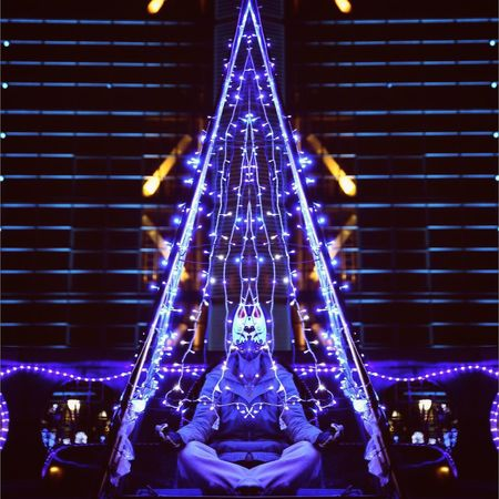 Night Illuminated No People Religion Low Angle View Spirituality Christmas Place Of Worship Architecture Outdoors