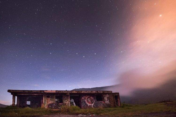 EyeEmNewHere Milkyway Space Night Longexposure EyeEm Ready   Space And Astronomy Star - Space Astronomy Landscape Space Milky Way Mountain Rural Scene Sky Constellation Galaxy Nature No People Outdoors