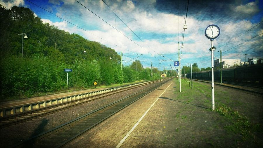 Nature Train Train Station Bahnhof The Traveler - 2015 EyeEm Awards EyeEm Best Shots Landscape Unterwegs Landscape_Collection Moment