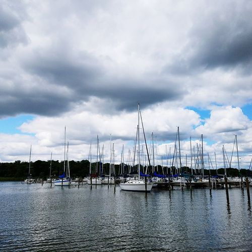 Cloud - Sky Water Day No People Tranquility Sky Outdoors Sea Landscape Nautical Vessel Nature