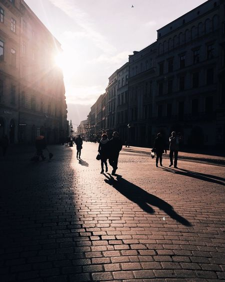 s u n l i g h t | Krakow,Poland Enjoying Life Beautiful Sunlight People Walk