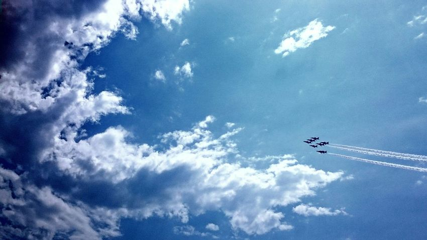 Taking Photos Walking Around Aroundtheworld Air Festival Airplane Sky Plane Jet Jets Bournemouth Beach