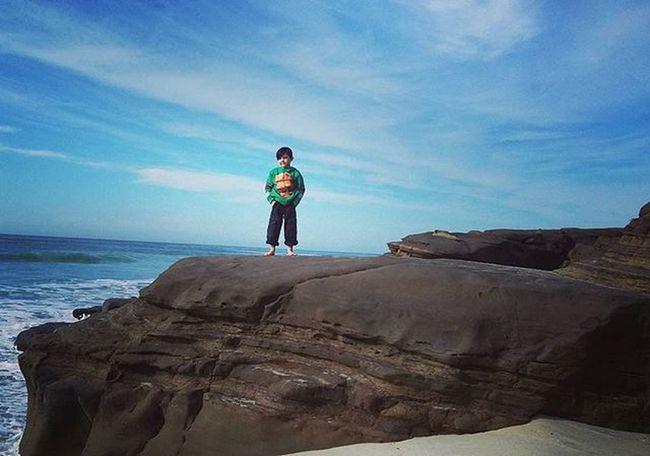 Keo having fun after being away from the beach so long. Fun Windnsea Family Boys La Jolla Beach Children San Diego