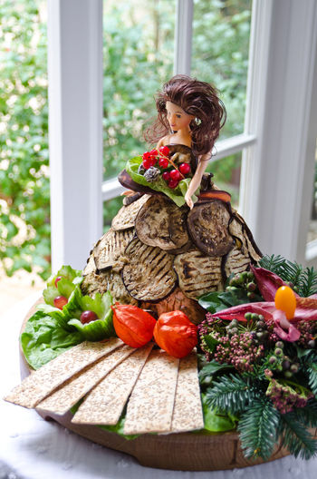 Aubergine Doll Food And Drink Herb Meal Temptation Food Foodphotography Fresh Freshness Garnish Healthy Healthy Eating High Angle View Indoors  Indulgence No People Organic Plate Ready-to-eat Serving Size Still Life Tabletop Window Yummy