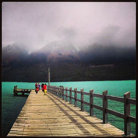 Saying goodbye to lake Wakatipu and south island, with a quick Scenic drive up to Glenorchy ...