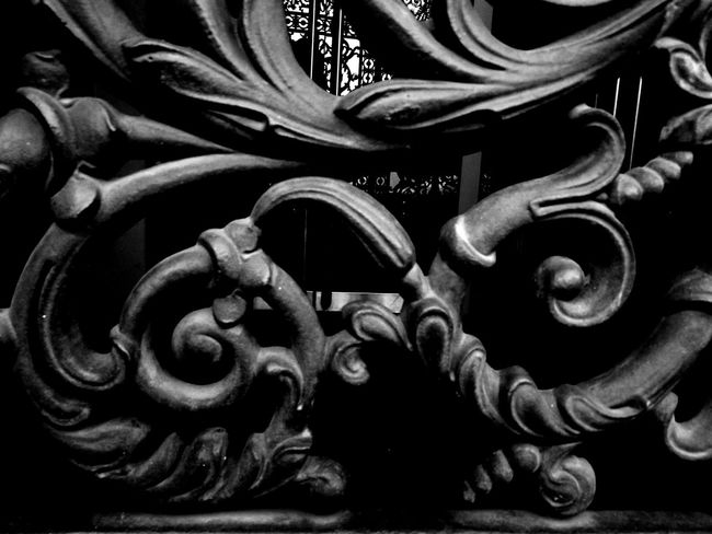 Close-up Metal Iron - Metal Full Frame Weathered Man Made Object Wrought Iron Iron No People No Filter, No Edit, Just Photography Portal Achitecture Architectural Detail Architecture_collection Bnw Black And White Collection  Dark Black And White Bright Black And White Photography EyeEm EyeEm Gallery Majestic
