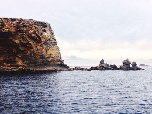 Rock Sea Scenery